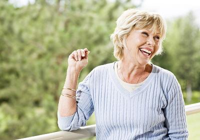 Older Woman Smiling | Sartell MN Dentist