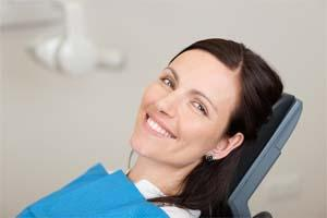 Smiling Woman in Dental Chair | Dentist in Sartell MN