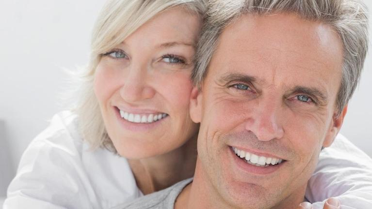 couple after teeth whitening exam in sartell mn